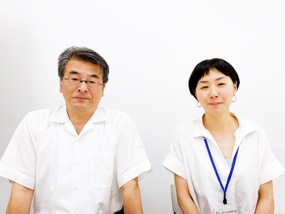 「コワーキングスペース永福」を運営している生活クラブ生活協同組合・東京の山本さんと脇田さん