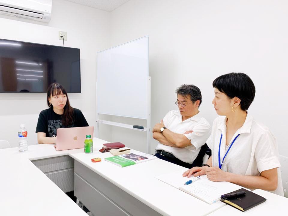 コワーキングスペース永福スタッフのリーダーの脇田さん