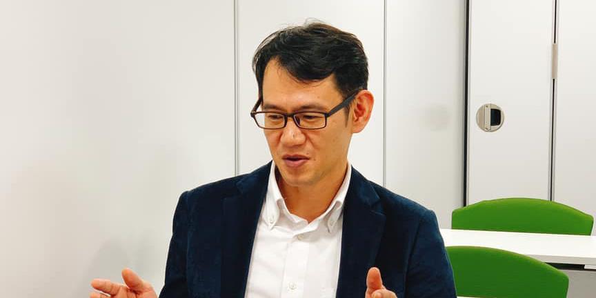 株式会社ビューン代表取締役社長の大石隆行さん