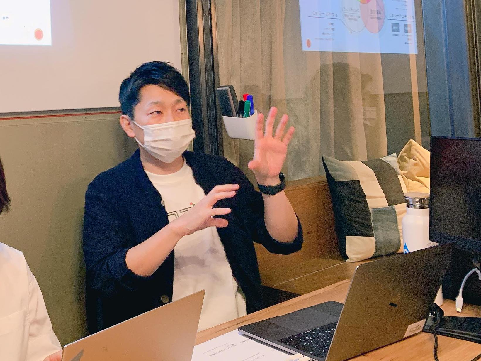 BUSO AGORA インキュベーションマネージャー 吉井慎人さん